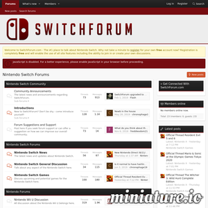 SwitchForum - Nintendo Switch Forums Preview